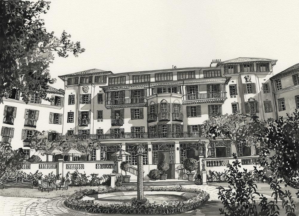 # 011 The Mount Nelson Hotel Facade