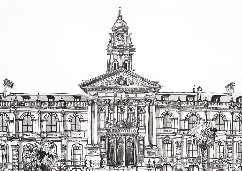 # 001 City Hall Facade
