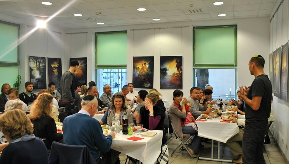 Pre Yom Kippur Meal at JCC Krakow
