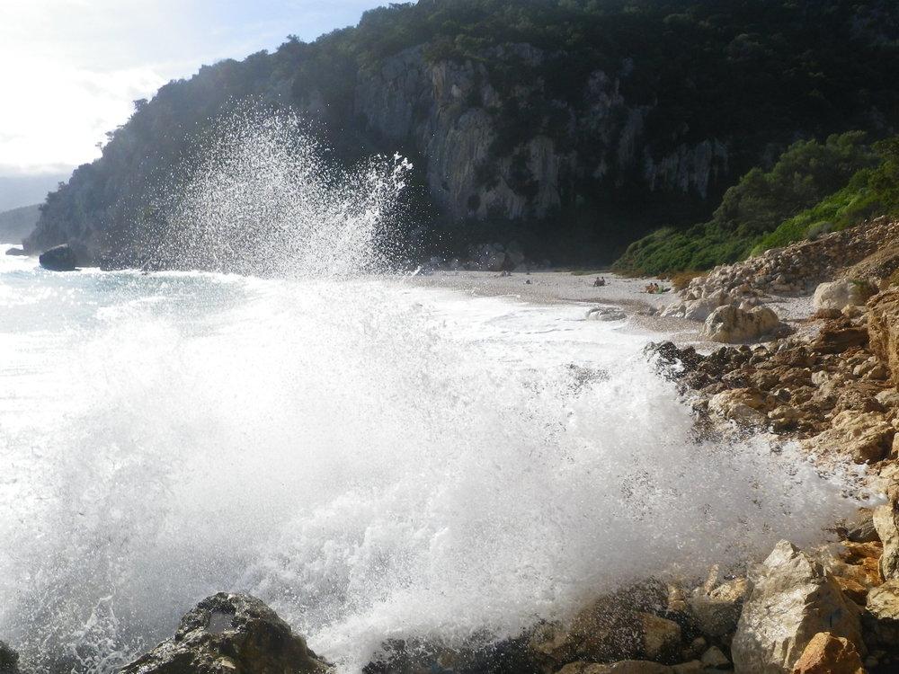November: family holiday in Sardinia