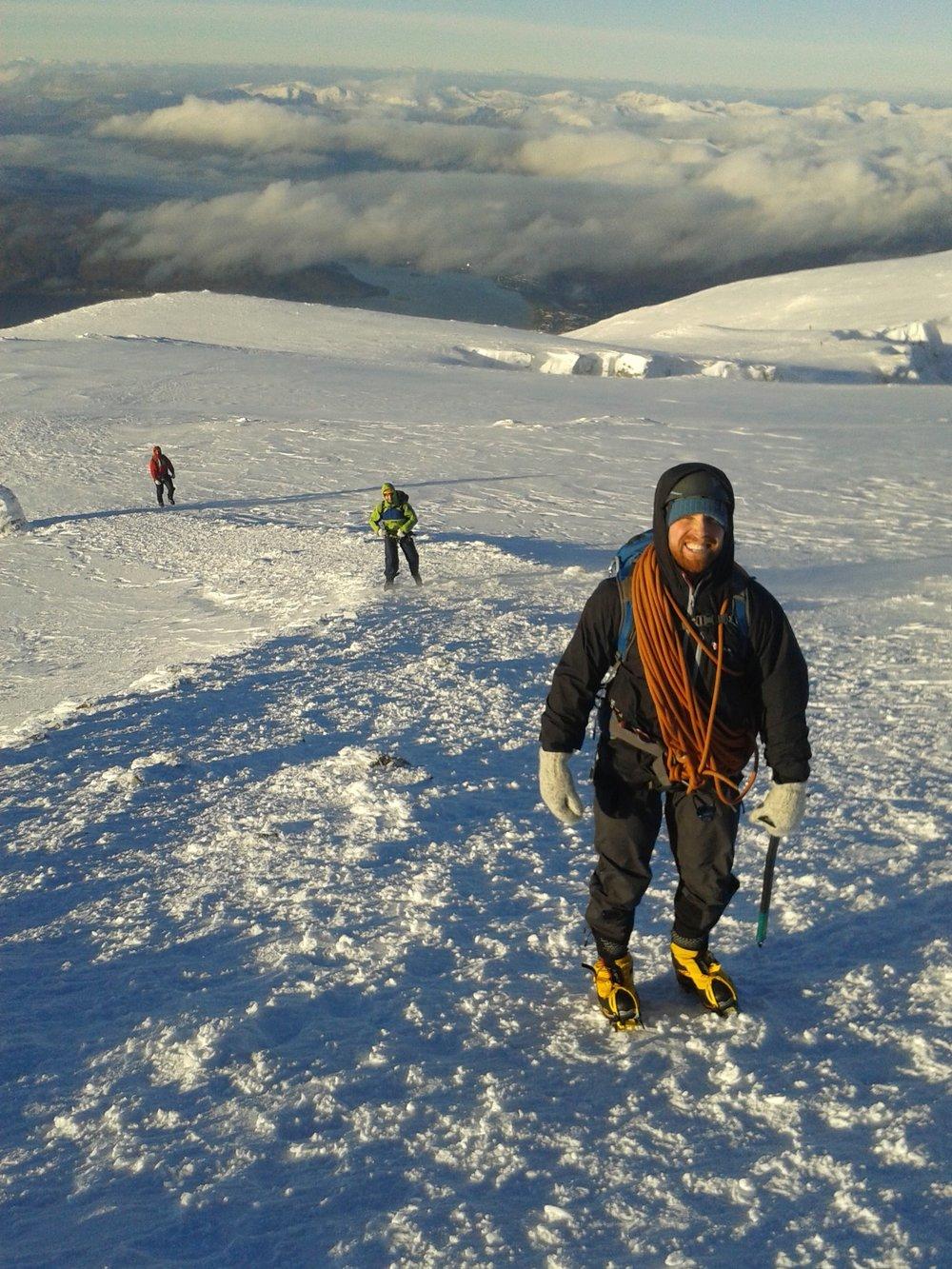 Dachstein mitts in action in Scotland
