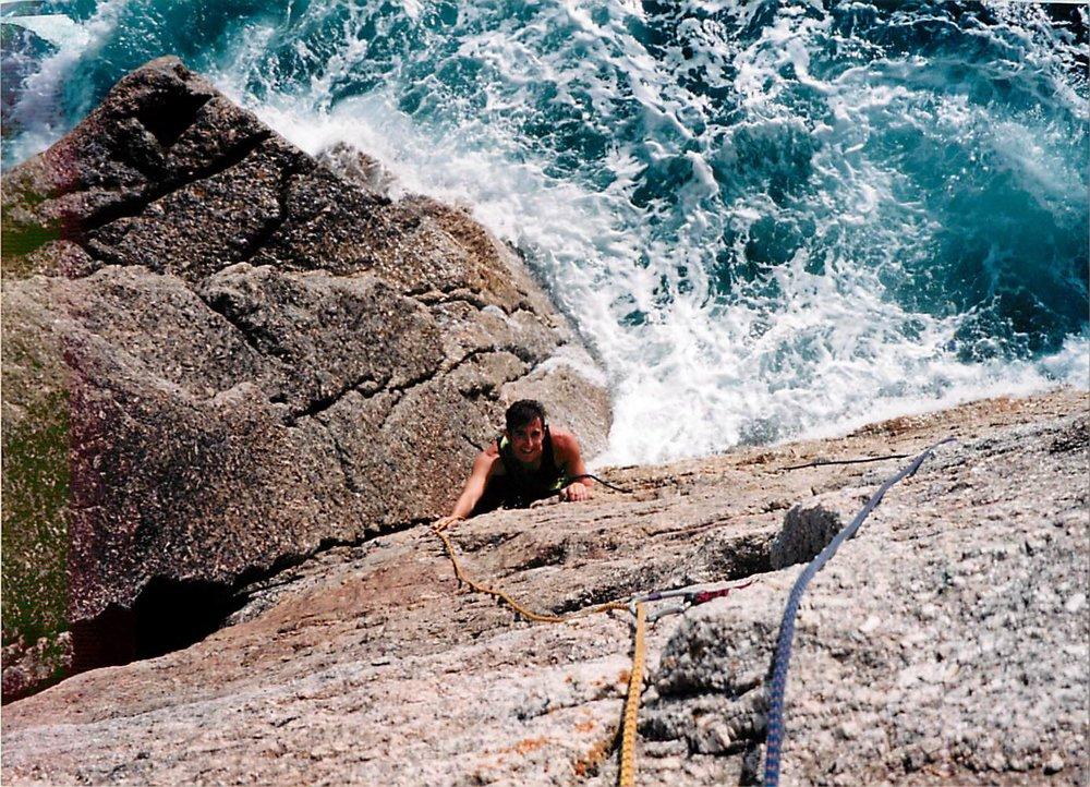 Climbing in Cornwall