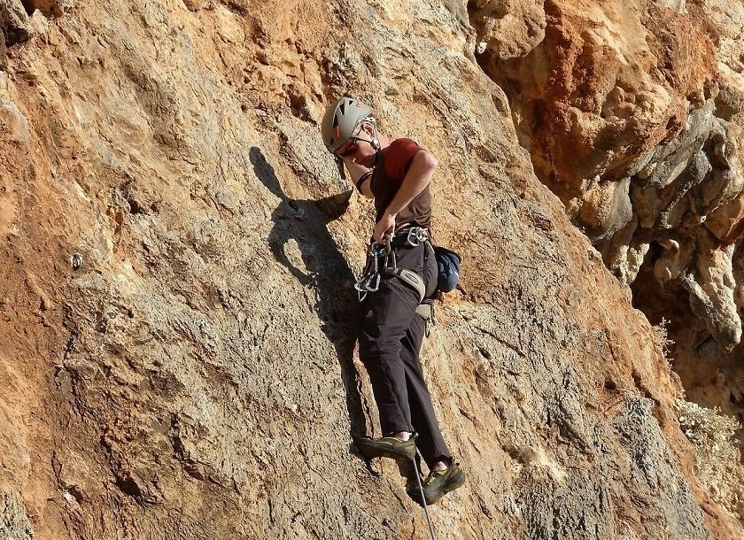 Climbing on the Greek island of Kalymnos