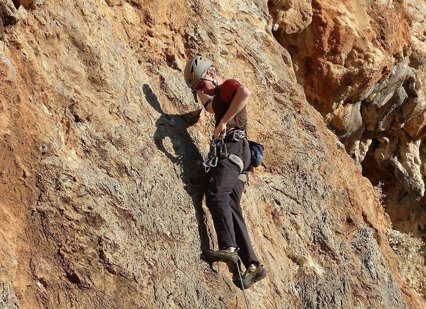 Climbing on the Greek island of Kalymnos