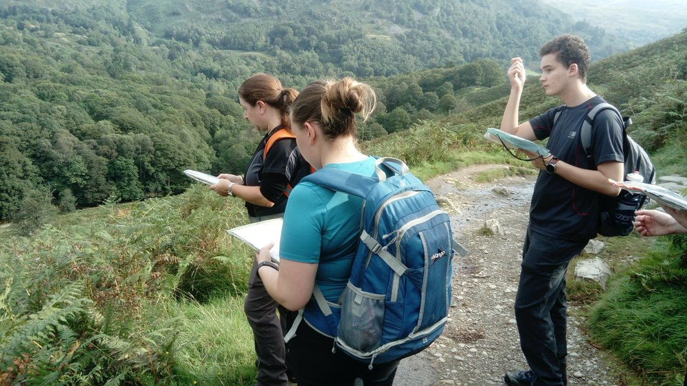 August: Lowland Leader training course in the Lake District