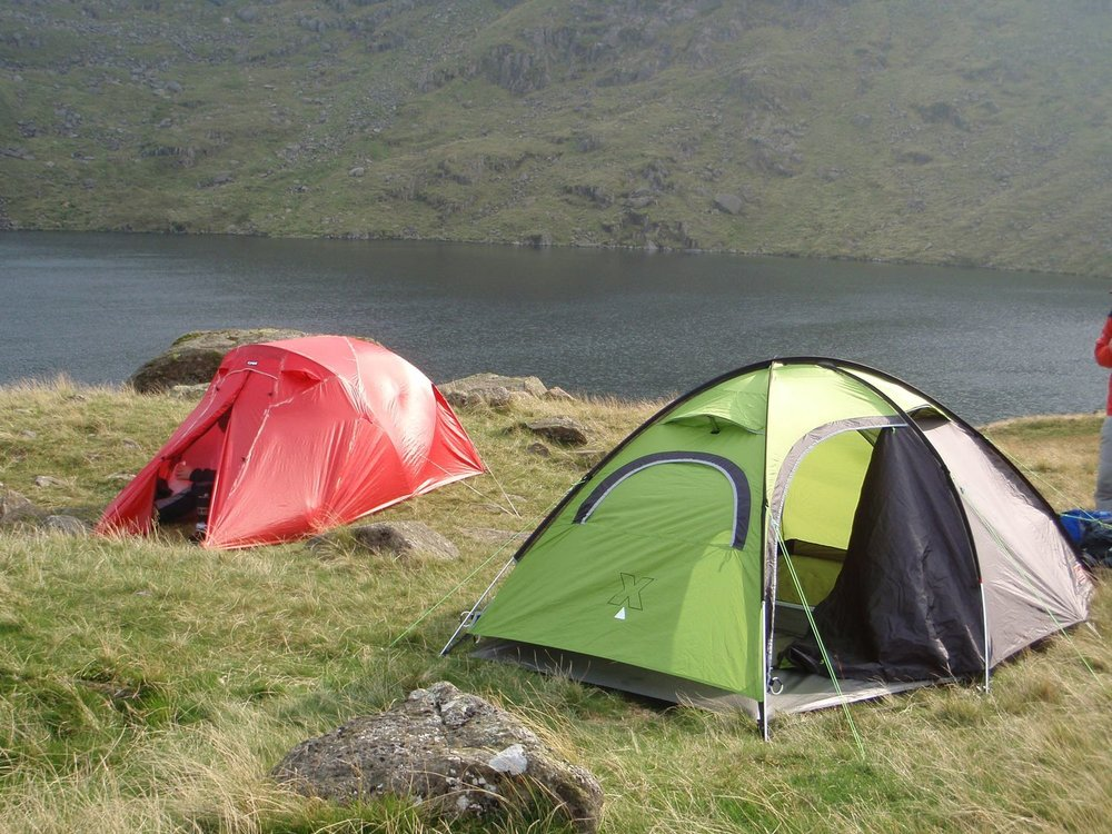 a mountain leader assessment course wild campsite - chris ensoll mountain guide