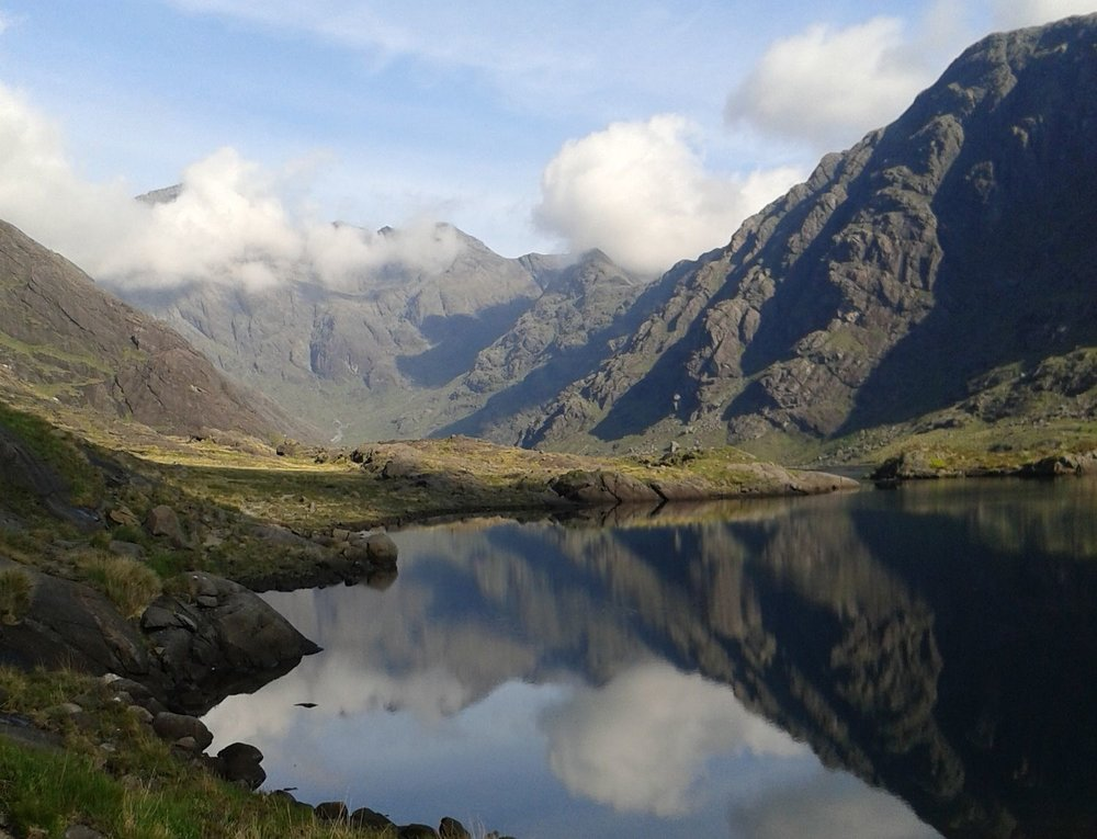 The Cuillins of Skye -