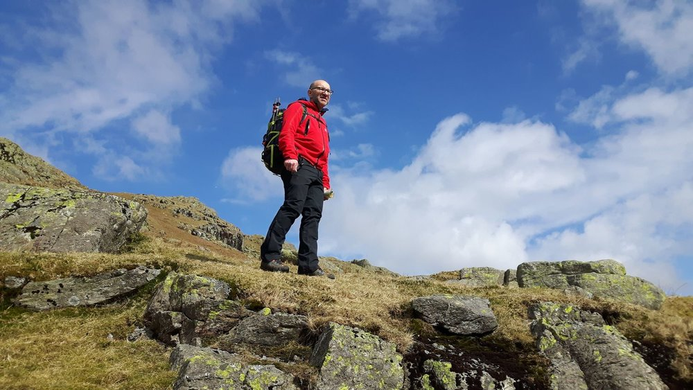 John out and about in the Lake District