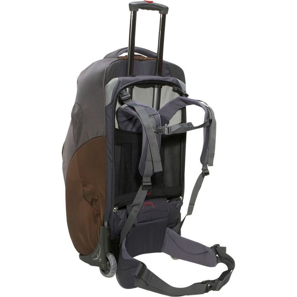 The Osprey pack as we never used it