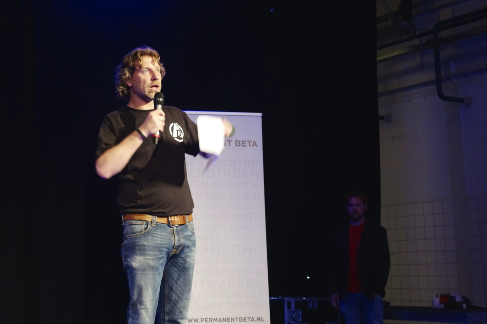 Martijn Aslander Opening Permanent Beta Day 4