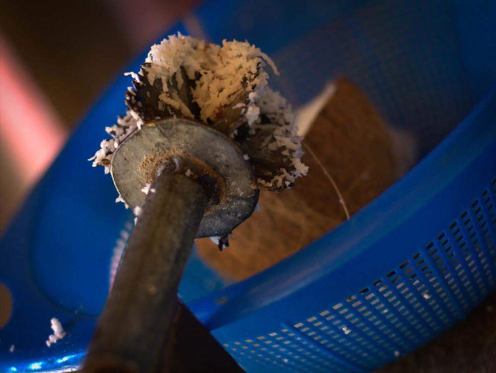 rasta mesa coconut grater
