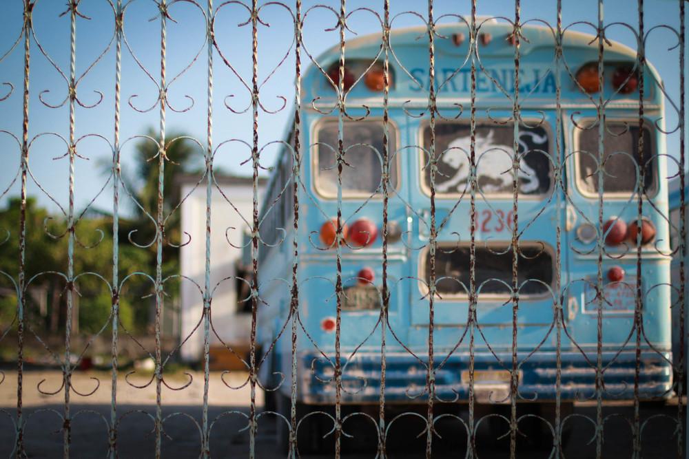 I  ❤ Belizean buses, Sarteneja