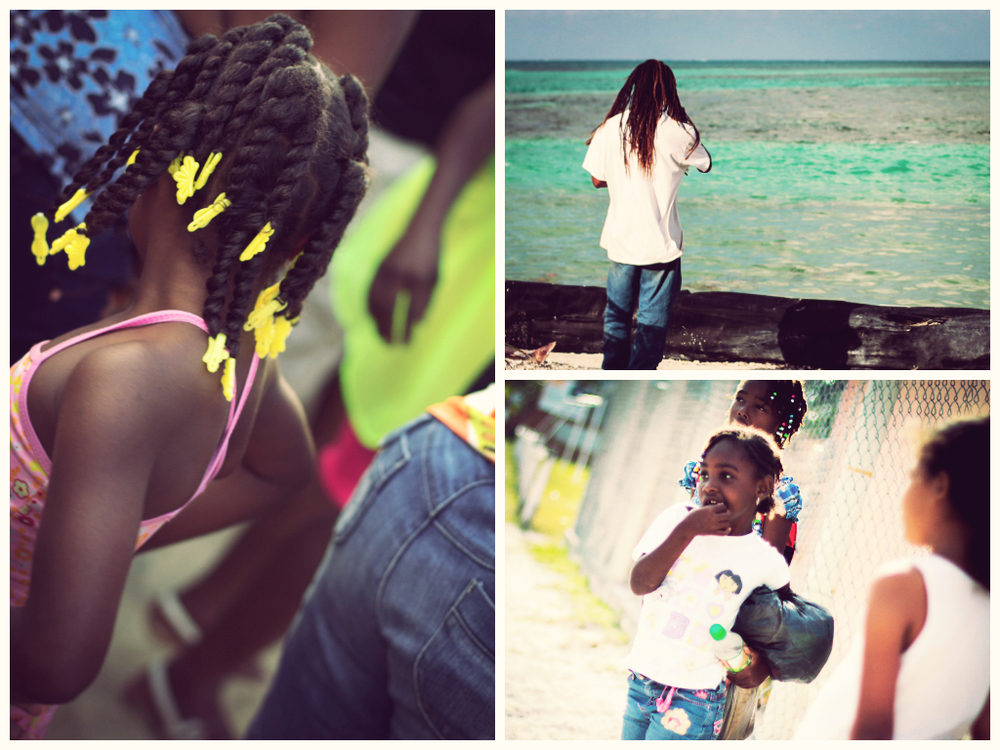 kriol belize collage