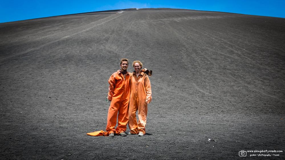 Volcano Boarding in Nicaragua, Cerro Negro, Bigfoot Hostels, Leon