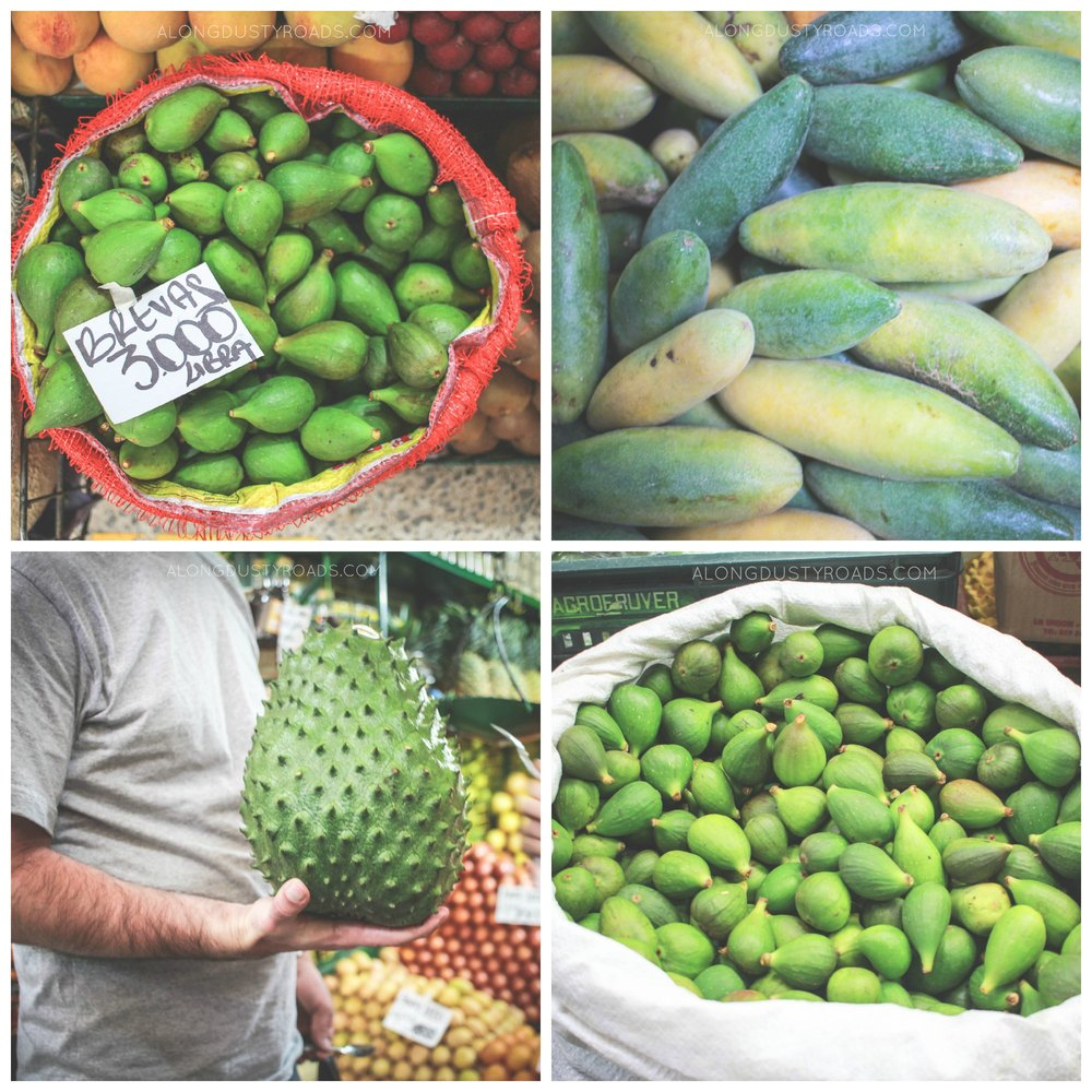exotic fruits colombia