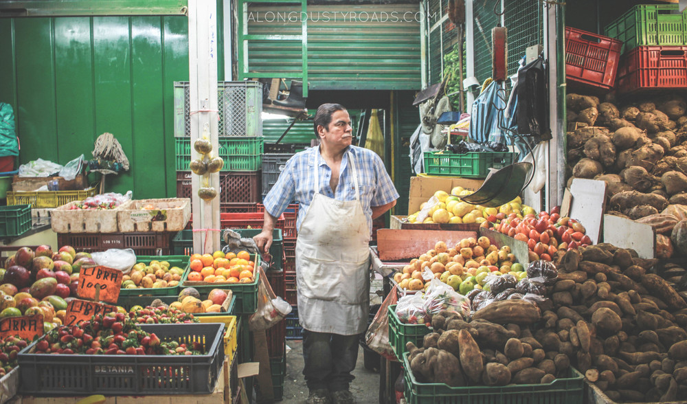 the coolest grocer in colombia - minorista market, medellin