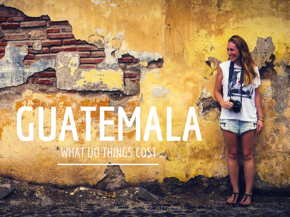 what do things cost in guatemala