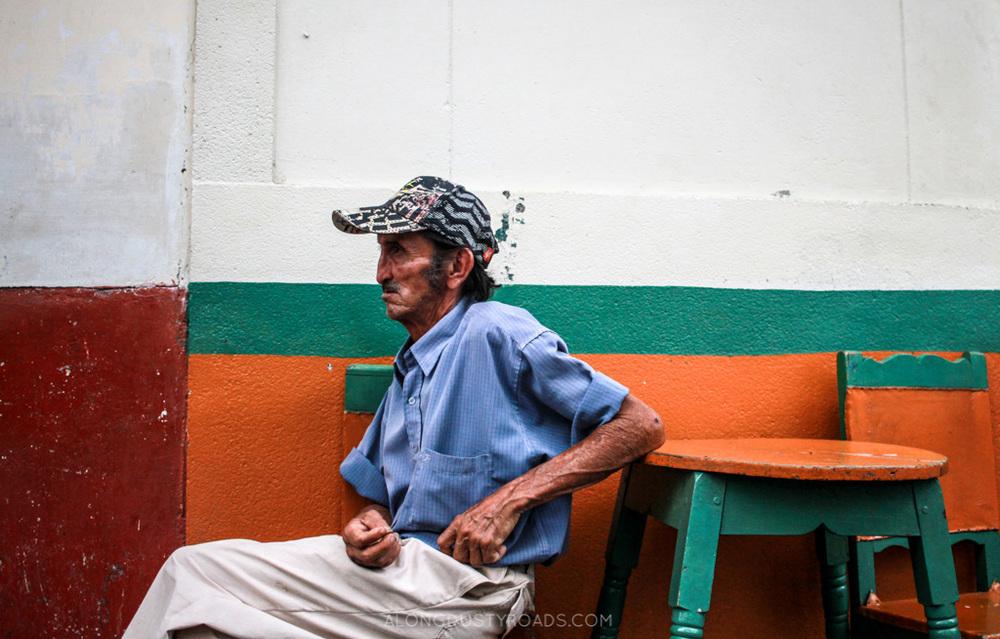 old man jardin colombia