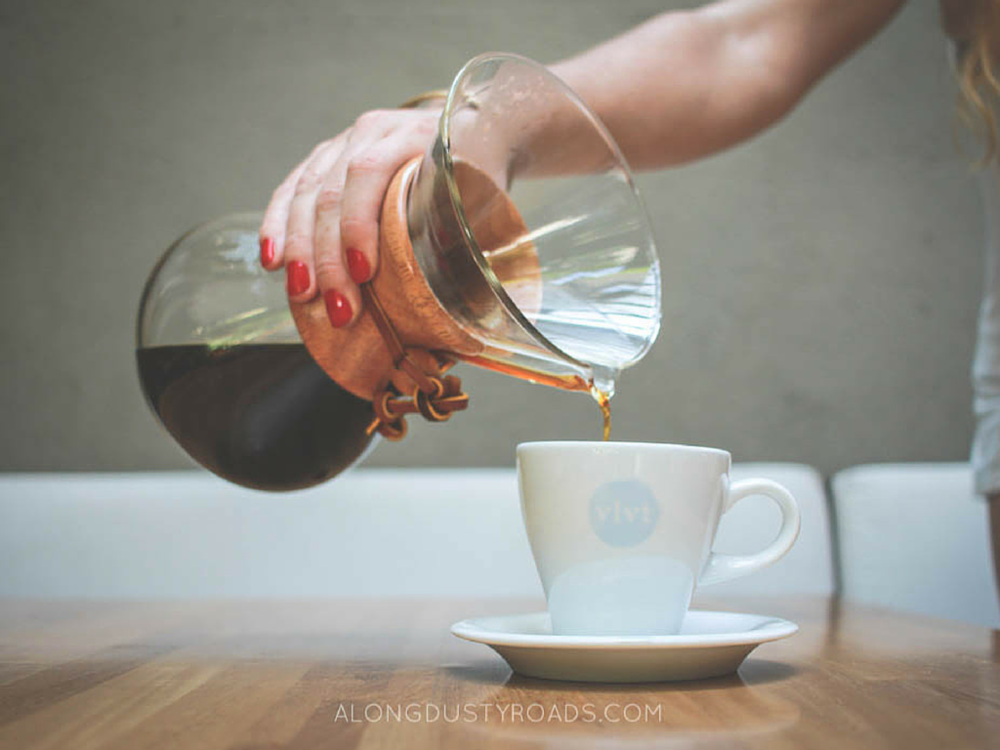 Things to do in Medellin - coffee in poblado (cafe velvet)