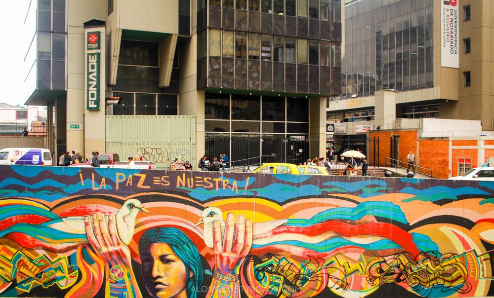 street art bogota colombia - alongdustyroads.com