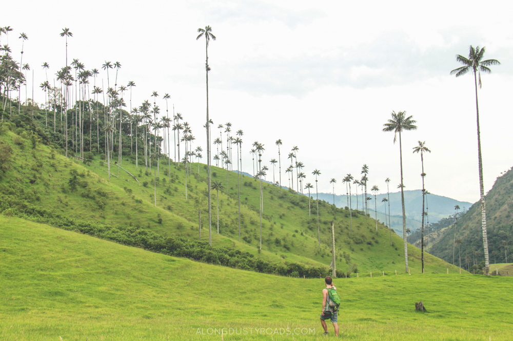 valle de cocora alongdustyroads.com