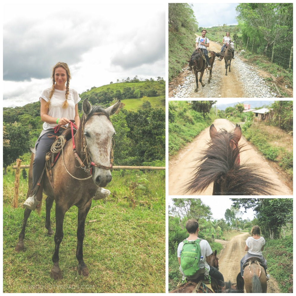horse riding tour san agustin colombia