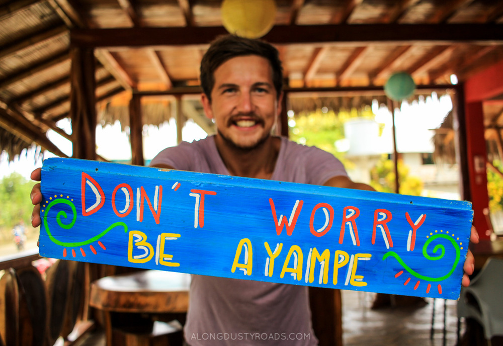Don't worry, be Ayampe