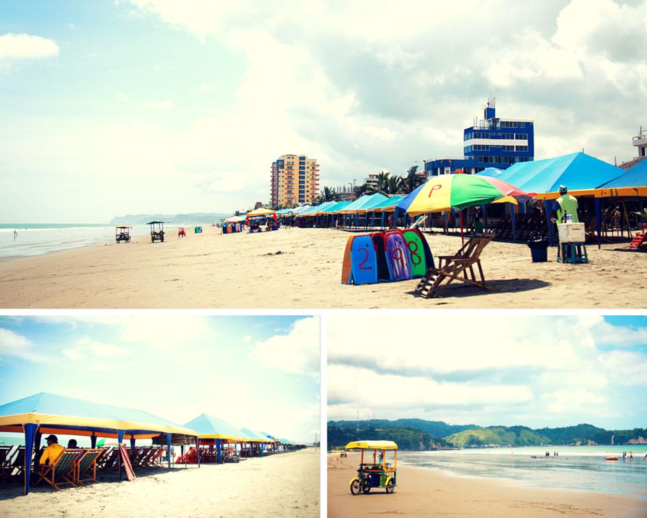 Atacame Beach, Ecuador
