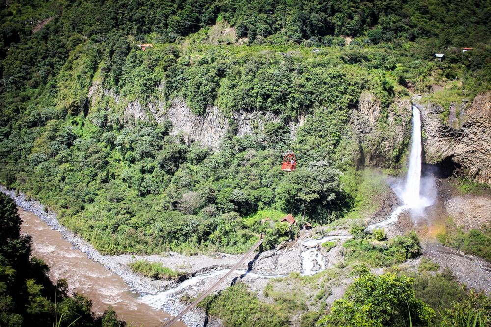 Ruta de las Cascadas - Baños, Ecuador