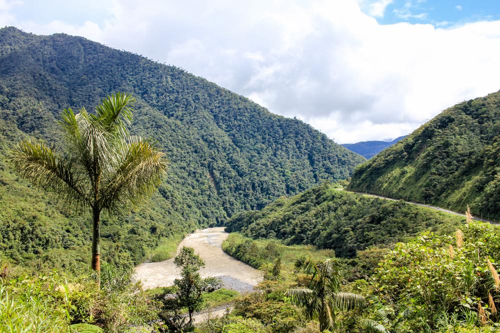 Bike ride to Puyo - Baños, Ecuador