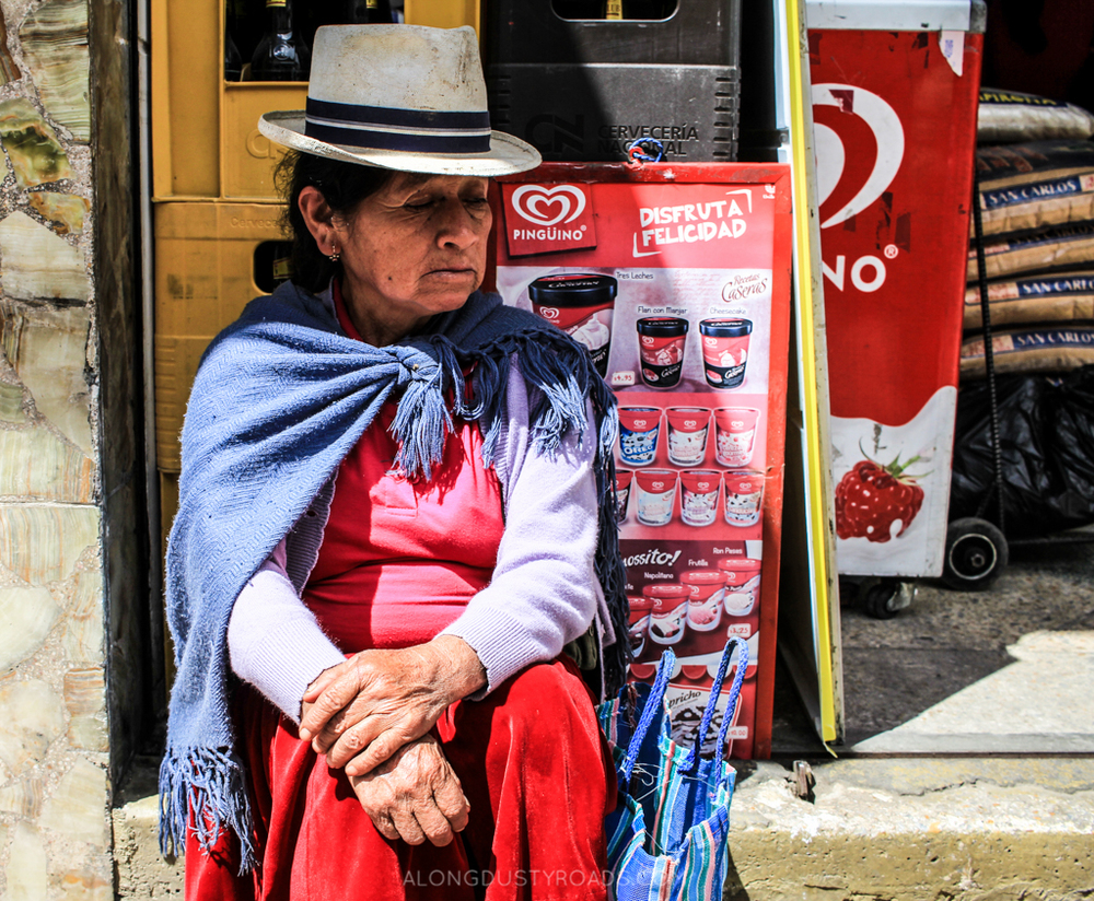 A walk through Cuenca, camera in hand