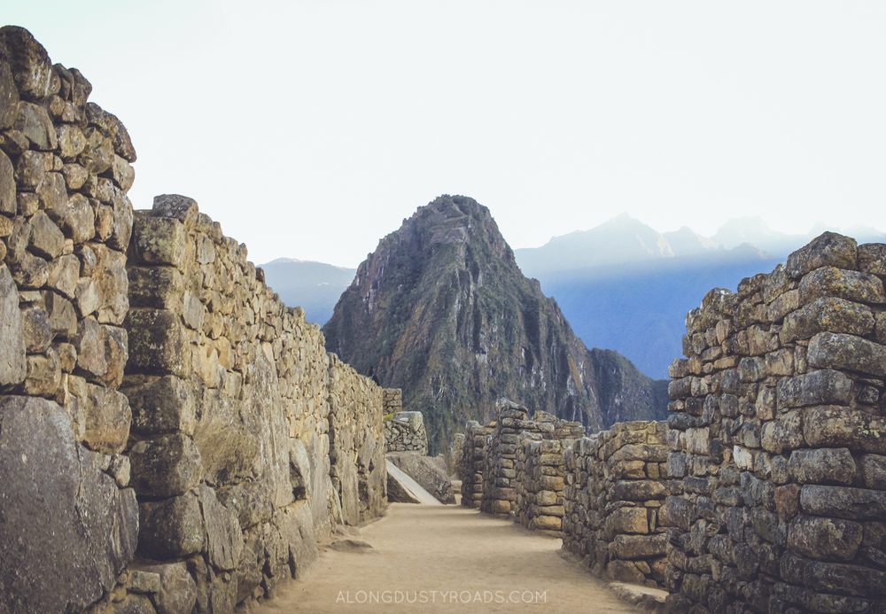 How to get to Machu Picchu for $1 - Along Dusty Roads