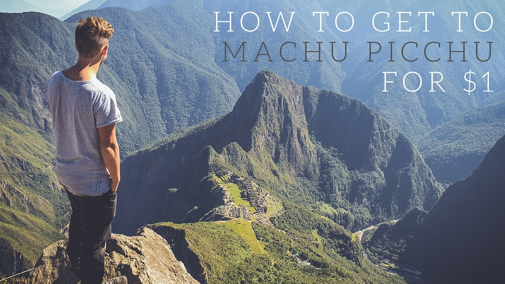 The cheapest route to Machu Picchu - Along Dusty Roads