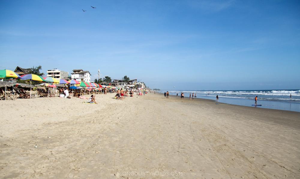 Montañita Beach, Ecuador