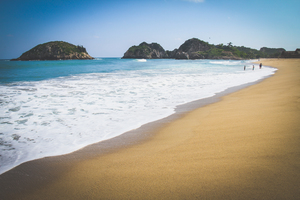 maruata: the most beautiful beach in mexico