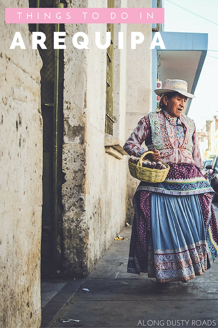 Seven Things to do in Arequipa