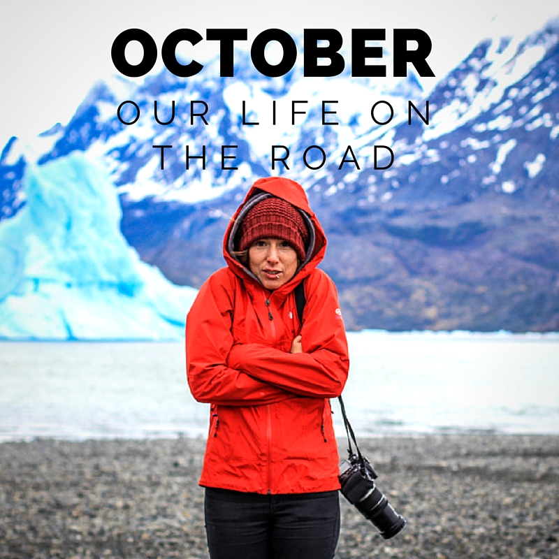 October: Our life on the road