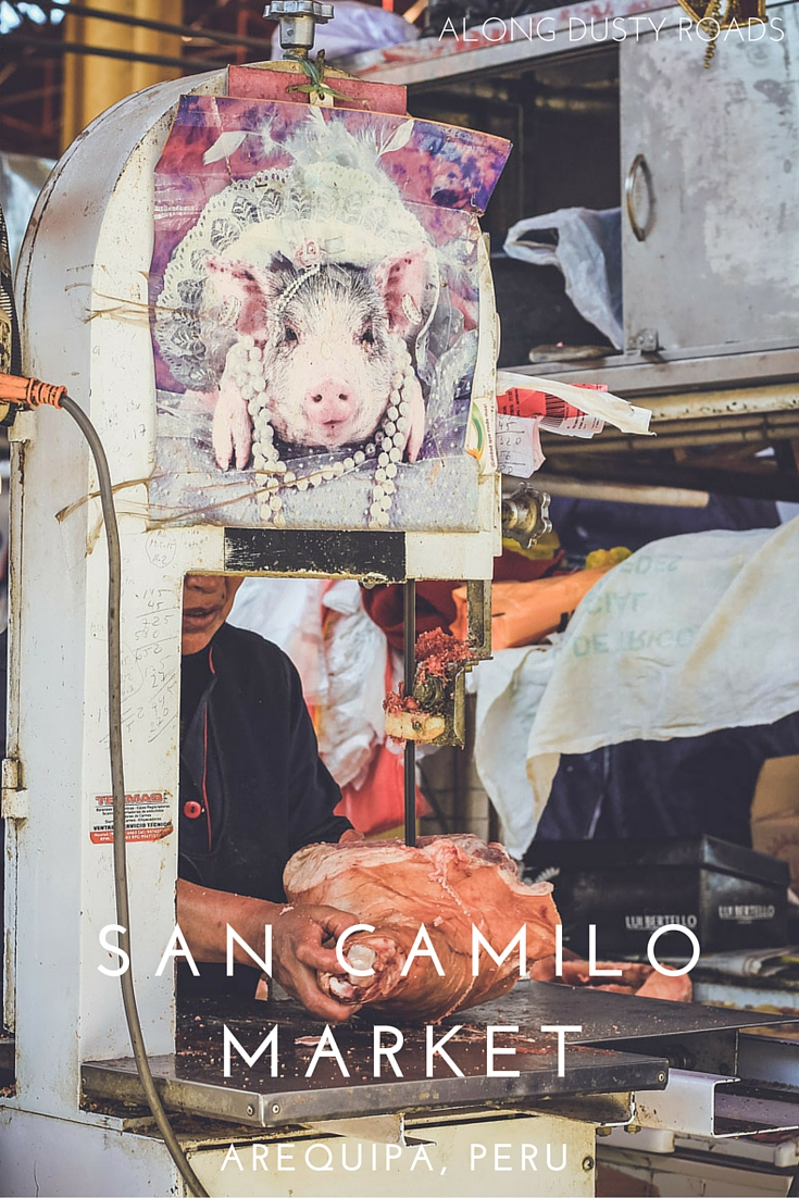 Discovering the normal in San Camilo Market - Arequipa, Peru