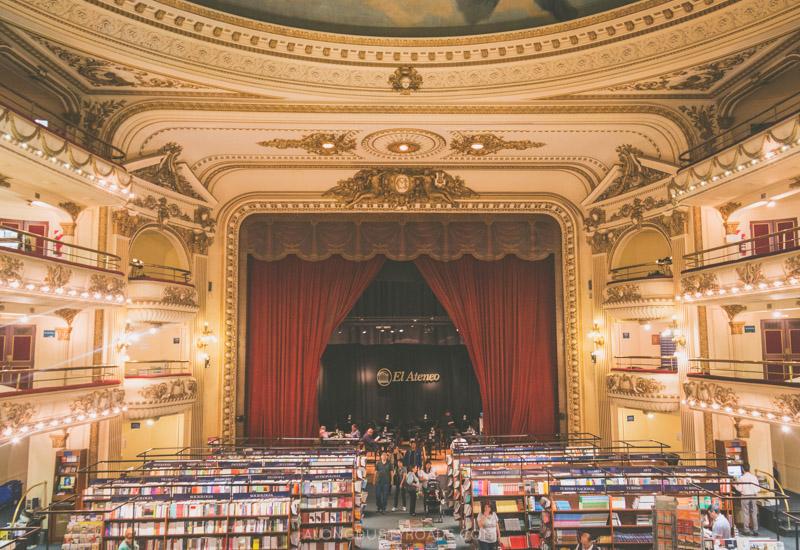 El Ateneo Bookshop - Buenos Aires