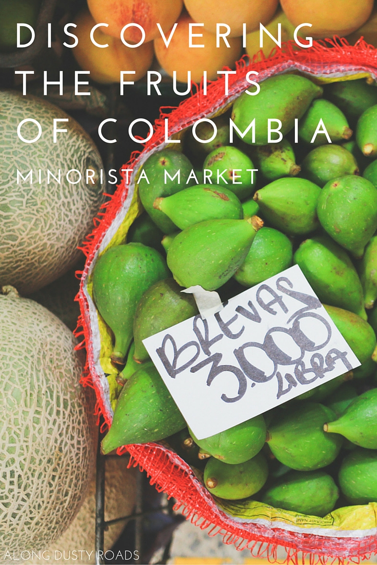 DISCOVERING THE FRUITS OS COLOMBIA AT MINORISTA MARKET