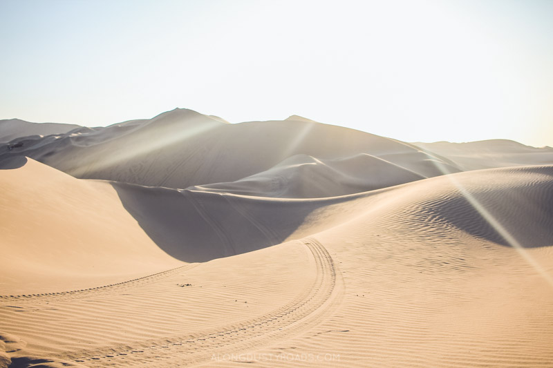 Sandboarding and Dune Buggies in Huacachina, Peru
