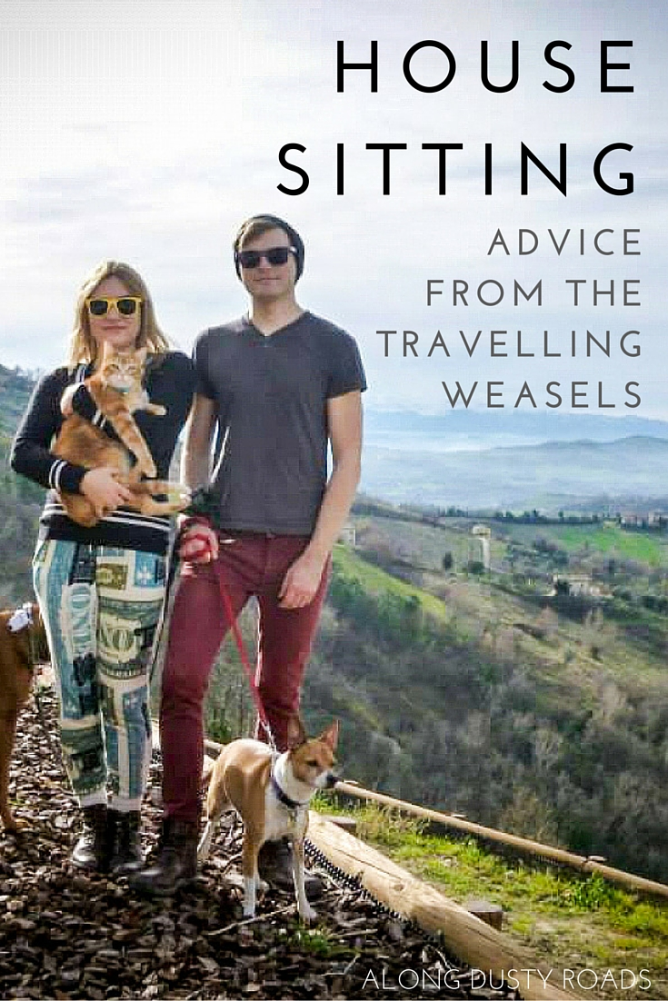 Alternative accommodation: House sitting with the Travelling Weasels