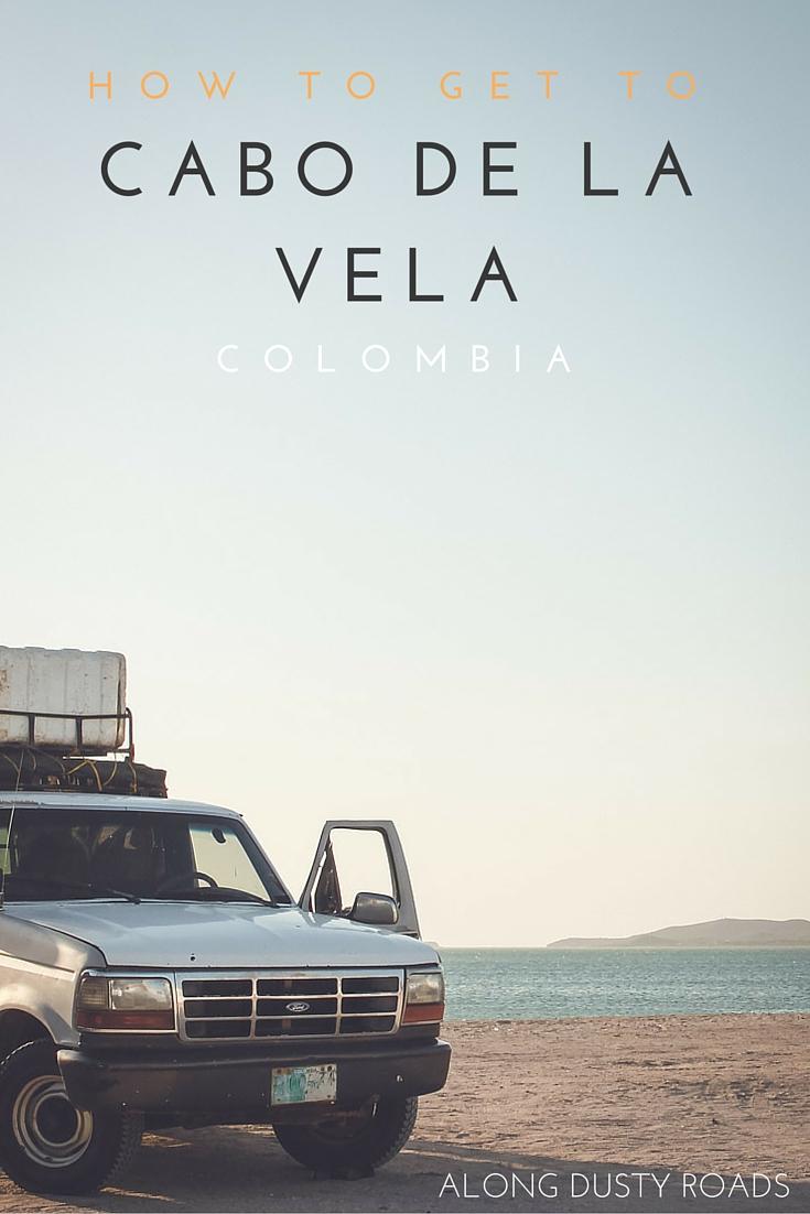 How to get to Cabo de la Vela