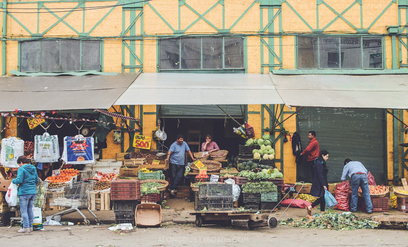 Things to do in Valparaiso - The local fruit and veg market, Valparaiso, Chile