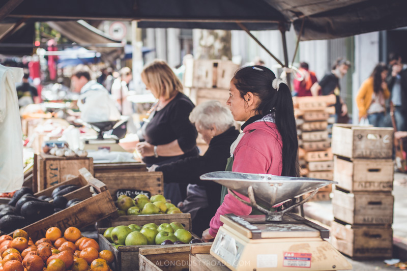 Tristán Narvaja Street Market, Montevideo, Uruguay