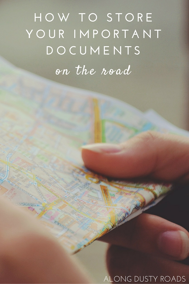 Do you know what important documents you need to carry with you on every trip? Do you know how to store them? We've got the answers, just click on the pin.