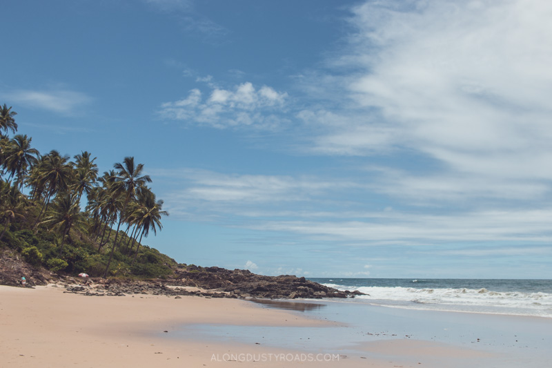 Beautiful beaches of Itacaré, Bahia, Brazil