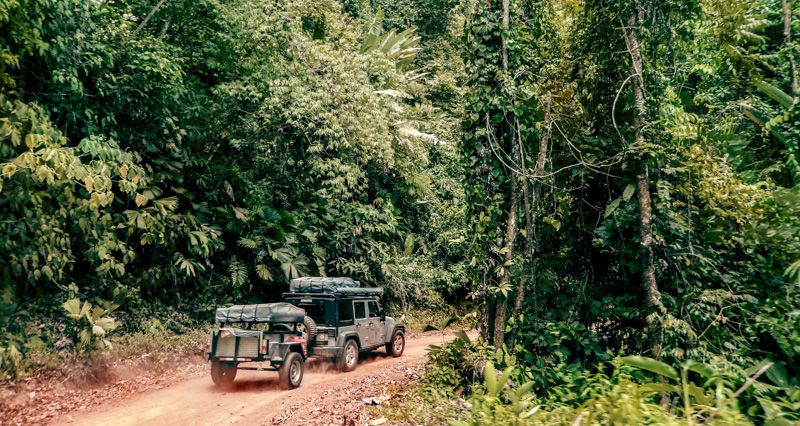 Costa Rican road trip, Nomad America