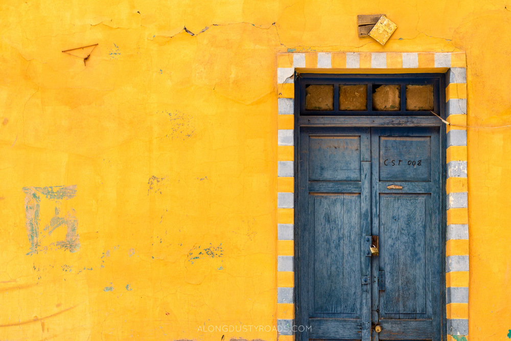 Colourful door in Tupiza, Bolivia