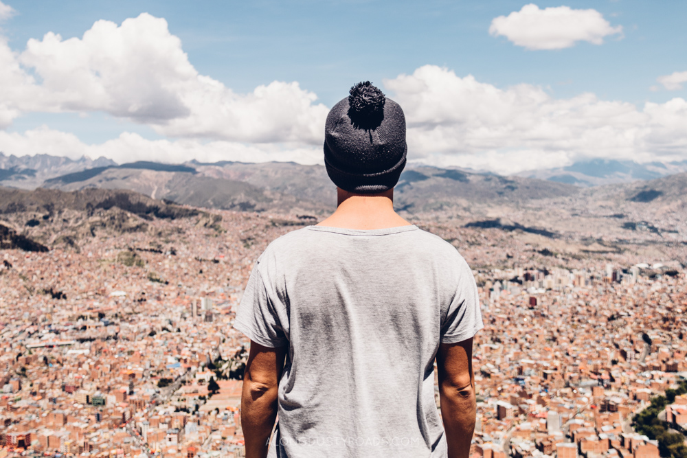 View over La Paz, Bolivia